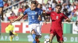 Under 21, Portogallo-Italia 3-2: non bastano Parigini e Barella