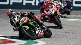 Superbike Gran Bretagna, van der Mark trionfa in Gara 1