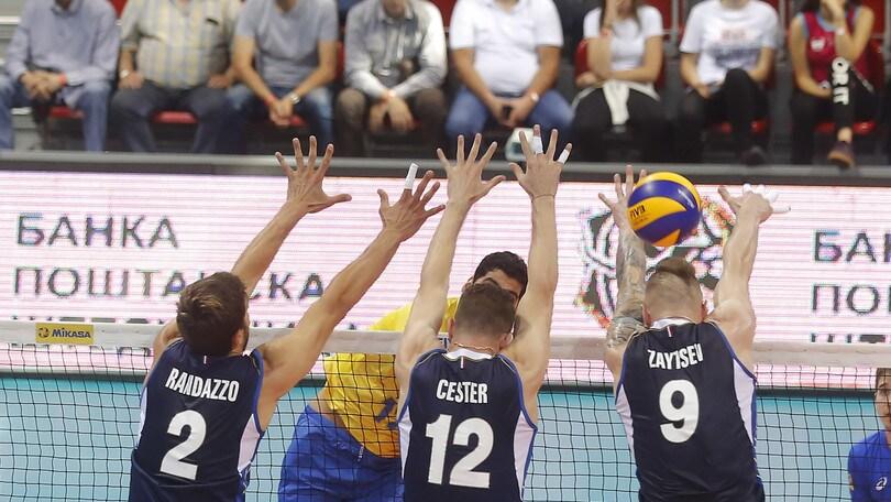 Volley: Volleyball Nations League, è grande Italia, battuto il  Brasile