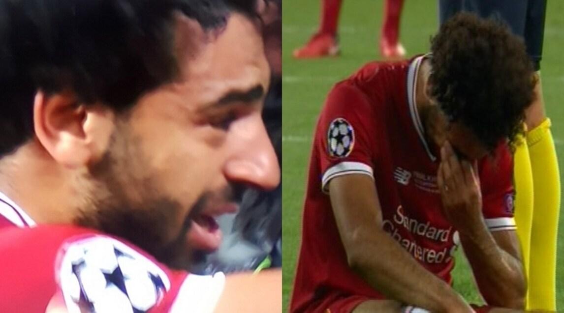 L'egiziano ha abbandonato la finale di Champions al 31' dopo un duro scontro di gioco con Sergio Ramos: problema alla spalla