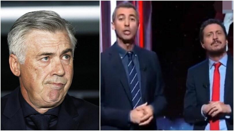 Luca e Paolo shock: «Napoli, Ancelotti non vede l'ora? Gli hanno già rubato l'orologio»
