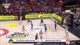 EA7 Emporio Armani Milano-Germani Basket Brescia Gara2
