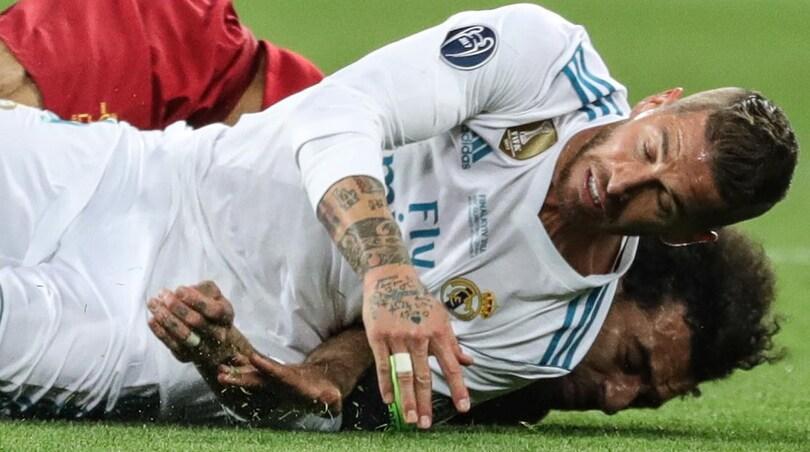 Sergio Ramos, arrivano le scuse: «Salah torna presto»