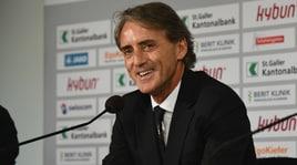 Nazionale, prima amichevole in discesa per Mancini
