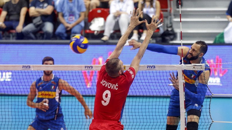Volley: Volleyball Nations League, l'Italia non si ferma: scacco alla Serbia