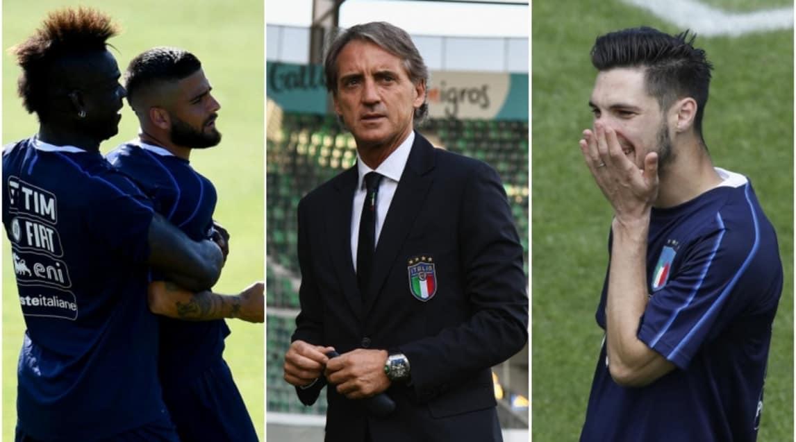 """Ecco la probabile formazione azzurra con cui il nuovo ct debutterà in amichevole: l'unico dubbio a centrocampo con il """"derby"""" romanista tra Florenzi e Pellegrini"""
