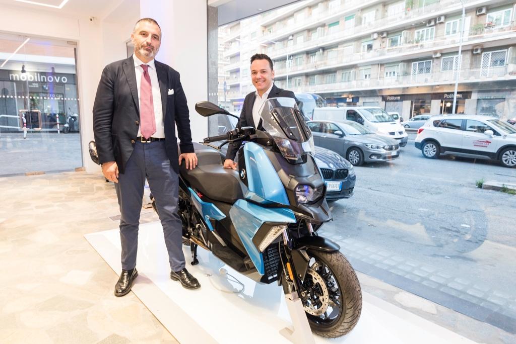 BMW Motorrad Roma, rinnovato lo showroom