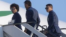Il Brasile in partenza per la Russia