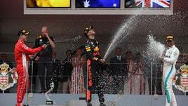 F1, Vettel scala la classifica ma Hamilton favorito numero uno per il titolo