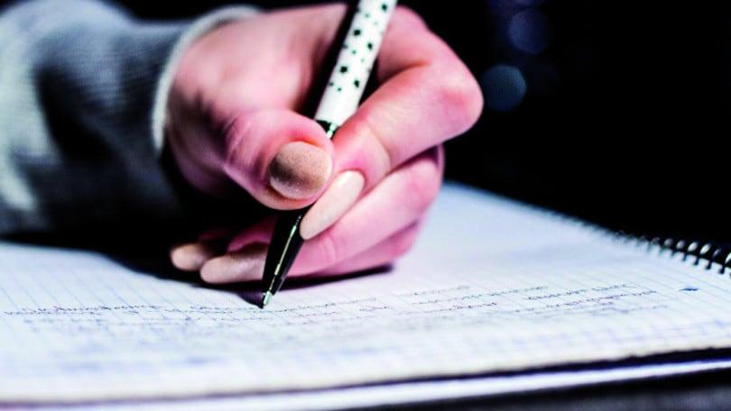 Scrivere a mano fa bene