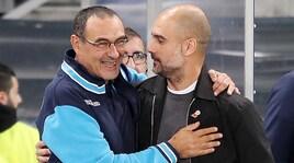 Guardiola esalta Sarri: «Lo vorrei in Premier League»