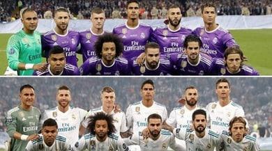 Real Madrid, Cardiff e Kiev un anno dopo...la foto è identica
