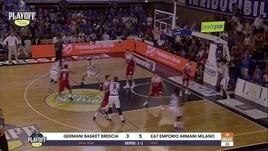 Germani Basket Brescia-EA7 Emporio Armani Milano Gara3