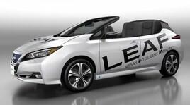 Nissan Leaf, l'elettrica diventa cabrio