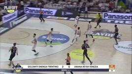 Dolomiti Energia Trentino-Umana Reyer Venezia Gara3