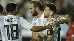 Argentina, tripletta di Messi contro Haiti