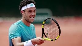 Roland Garros,Cecchinato per la prima volta al terzo turno