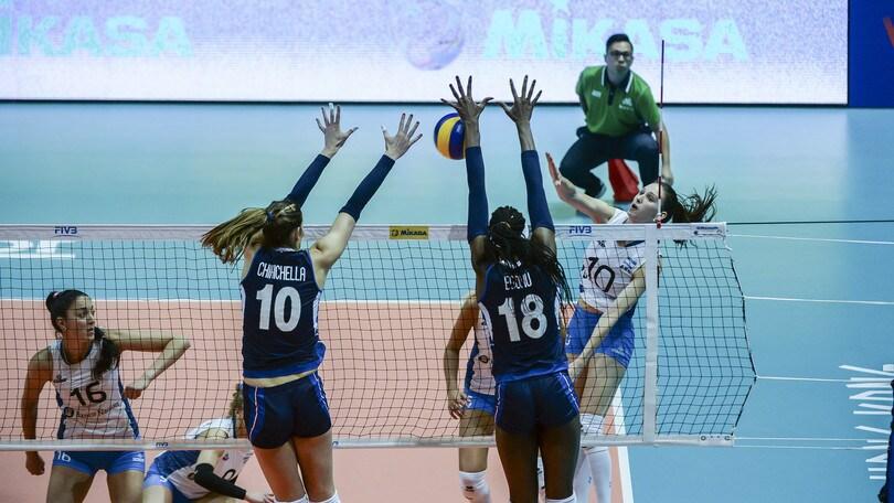Volley: Volleyball Nations League, tutto facile per l'Italia con l'Argentina