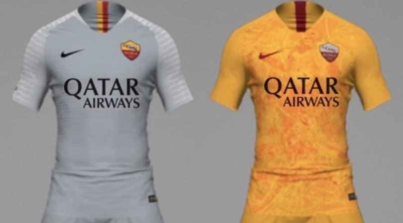Roma, sono queste le nuove maglie? La seconda è grigia