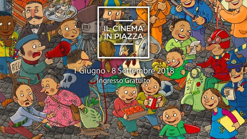 """Dal 1°giugno al via """"Il cinema in piazza"""""""