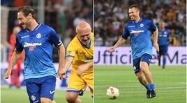 Totti e Cassano, che show per la partita del cuore!