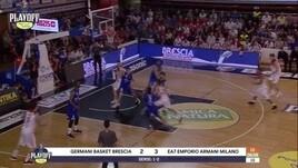 Germani Basket Brescia-EA7 Emporio Armani Milano Gara4
