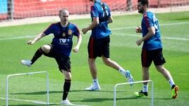 La Spagna si allena in vista dei Mondiali