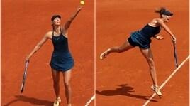 La Sharapova incanta Parigi con classe ed eleganza