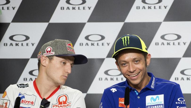 Moto Gp, Rossi è poleman Al Mugello supera Lorenzo