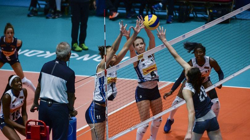 Volley: Volleyball Nations League, è Grand Italia: battuta la Cina