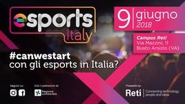 Esports Italy: il 9 giugno l'incontro con i protagonisti del settore