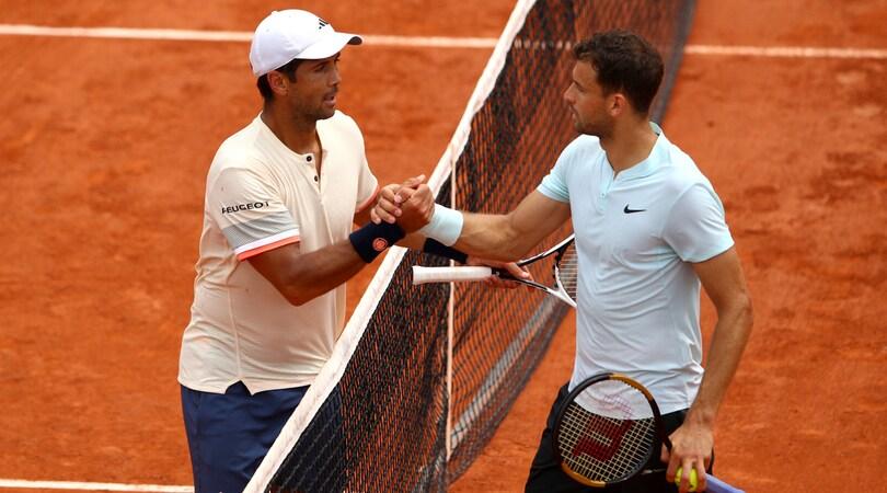Roland Garros, Verdasco elimina Dimitrov e vola agli ottavi
