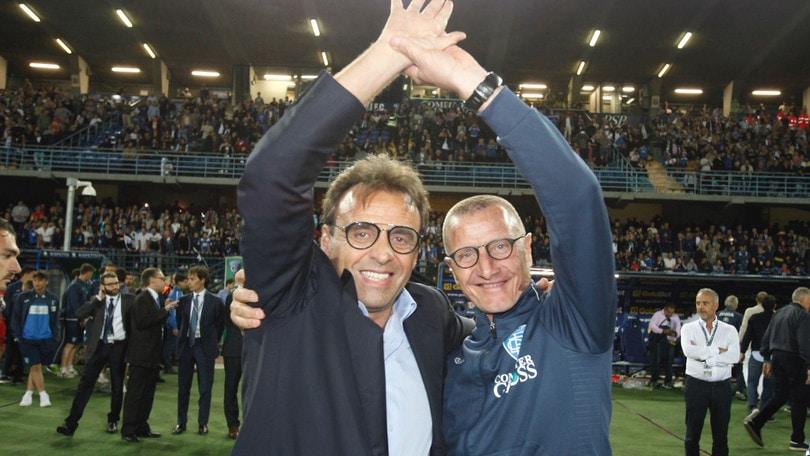 Empoli, Corsi: «Sarri? Addio da Napoli scelta sofferta»