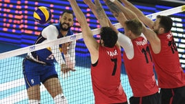 Volley: Volleyball Nations League, l'Italia si arrende al Canada