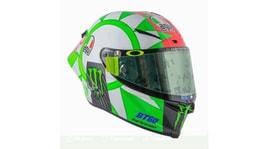 Valentino Rossi, ecco il casco per festeggiare il 2 giugno