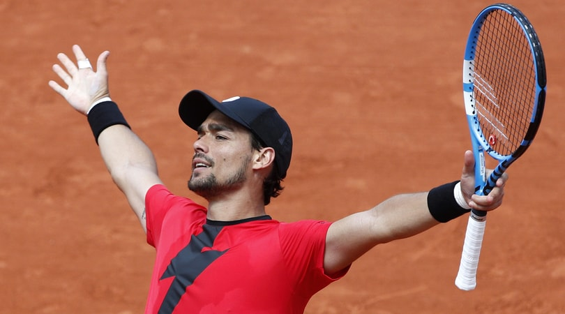 Roland Garros: Fognini agli ottavi, battuto Edmund in 5 set