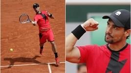 Roland Garros: Fognini vola agli ottavi