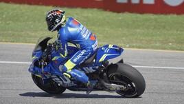 MotoGp Italia: Iannone davanti a tutti nel warm up, Rossi 7°