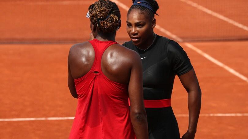 Roland Garros, le sorelle Williams fuori nel doppio