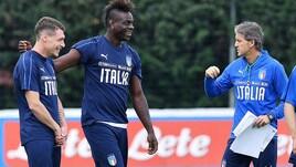 Italia, Balotelli carica la squadra in vista dell'amichevole contro l'Olanda