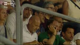 Sarri in tribuna per assistere a Samb-Cosenza