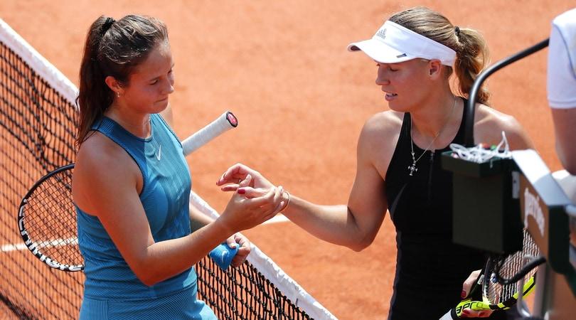 Roland Garros: Wozniacki eliminata agli ottavi