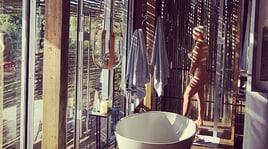 Wanda Nara nuda sotto la doccia, è boom su Instagram