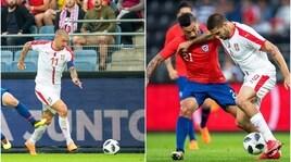 Test pre Mondiale: Serbia-Cile, Kolarov capitano
