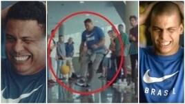 Vent'anni dopo, Ronaldo colpisce ancora il palo
