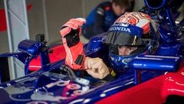 MotoGp Honda, Marquez prova una F1