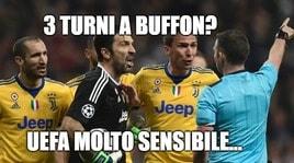 3 turni a Buffon, i social si scatenano: «Sentenza sensibile»