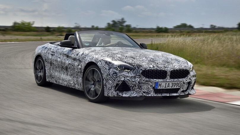BMW Z4, ultimi test prima del debutto
