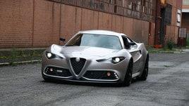 Mole 001, Alfa Romeo 4C con lo stile della Giulia