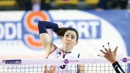 Volley: A1 Femminile, a Bergamo anche Rossella Olivotto